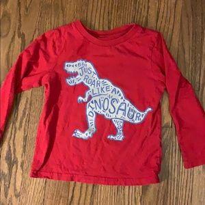 Children's Place Dino Shirt 3T